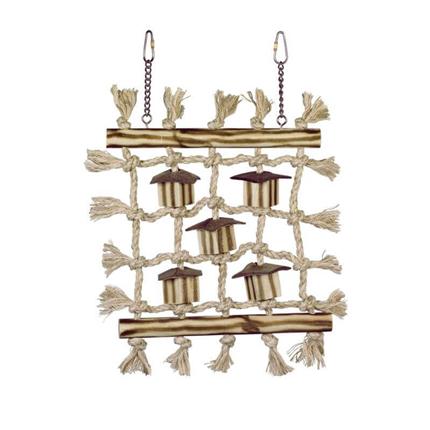 Nobby igrača za ptice zid za plezanje - 36 x 24 cm