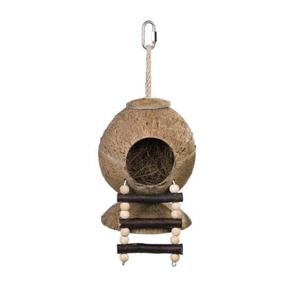 Nobby hiška kokos z lestvijo - 31 x 11,5 cm