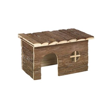 Nobby lesena hiška Woodland Chappy - 40 x 20 x 23 cm