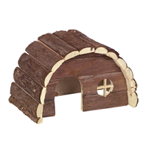 Nobby lesena hiška Woodland Samy - 24 x 15 x 16 cm