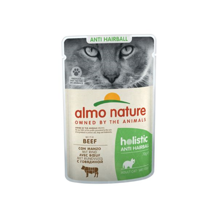 Almo Nature Holistic Anti-Hairball - govedina - 70 g