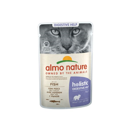Almo Nature Holistic Sensitive - riba - 70 g