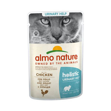 Almo Nature Holistic Urinary - piščanec - 70 g