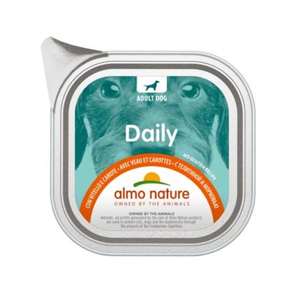 Almo Nature Daily - teletina in korenje - 100 g