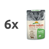 Almo Nature Holistic Anti-Hairball - govedina - 70 g 6 x 70 g