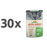 Almo Nature Holistic Anti-Hairball - piščanec - 70 g 30 x 70 g