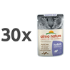 Almo Nature Holistic Sensitive - perutnina - 70 g 30 x 70 g