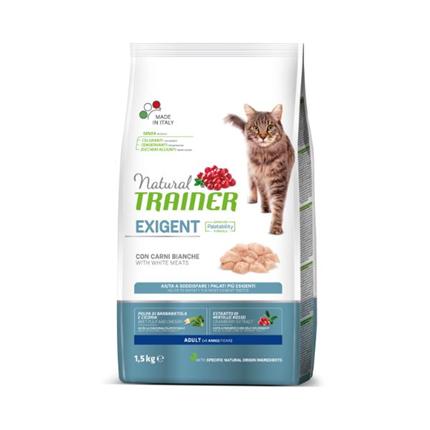 Trainer Natural Cat Exigent za izbirčne mačke - belo meso