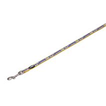 Nobby najlon povodec Style - oranžen - 120 cm