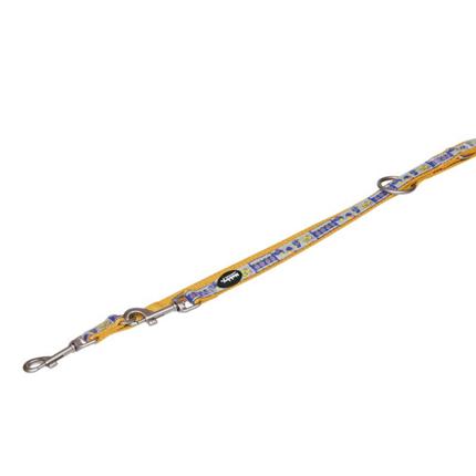 Nobby trening povodec najlon Style - oranžen - 200 cm