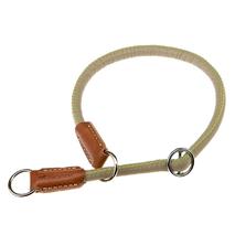 Ferplast polzatezna ovratnica Derby, umetno usnje - khaki - fi 12 mm