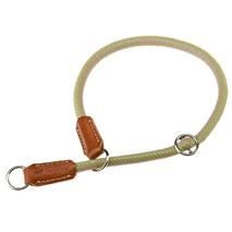 Ferplast polzatezna ovratnica Derby, umetno usnje - khaki - fi 10 mm