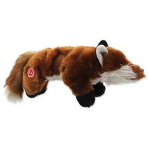 Dog Fantasy igrača pliš lisica s črnimi tačkami - 45 cm