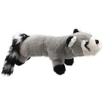 Dog Fantasy igrača pliš rakun s črnimi tačkami - 45 cm