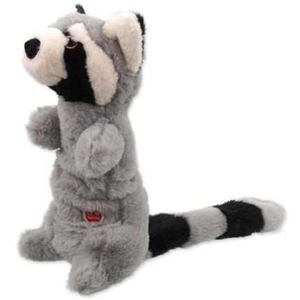 Dog Fantasy igrača pliš rakun - 45 cm