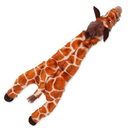 Dog Fantasy plišasta igračka Skinneeez, žirafa - 35 cm
