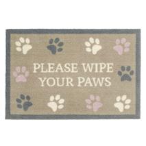 Preproga tačke Wipe Your Paws, bež + tačke - 50 x 75 cm