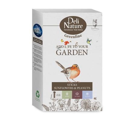 Deli Nature kreker sončnična semena in oreščki - 2 kos