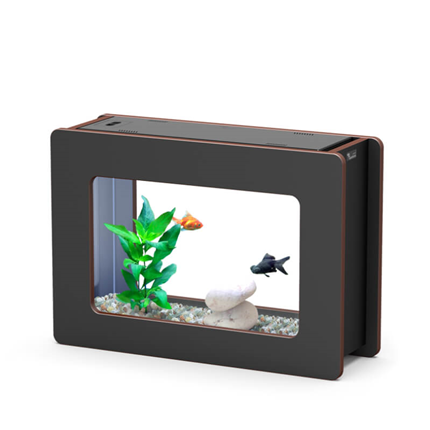 Aquatlantis Nanofashion Vision-L, črn - 22 l