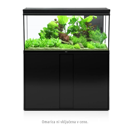 Aquatlantis Elegance Expert LED 2.0 (293 l), črn- 121 x 40,4 x 60 cm