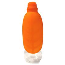 United Pets potovalna plastenka Leaf, oranžna - 500 ml