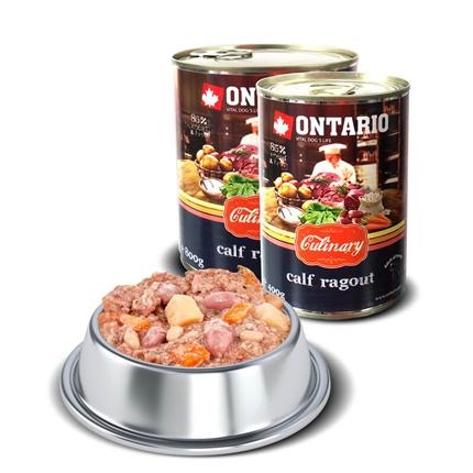 Ontario Culinary - telečji ragu z raco