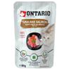 Ontario Cat - tuna in losos v juhi - 80 g 80 g