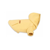 Amiplay pulover Hoodie Texas, rumena 50 cm