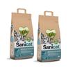 Sanicat posip Clean & Green iz celuloze 2 x 20 l