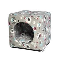 Leopet kocka Cubo, kužki - 40 x 40 x 40 cm