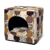 Leopet kocka Cubo Afrika - 40 x 40 x 40 cm