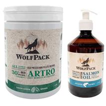 WolfPack paket - Artro 675 g + lososovo olje 500 ml