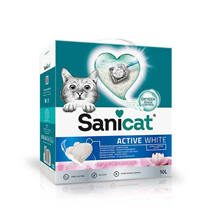 Sanicat posip Active White z vonjem lotusa
