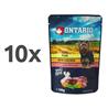 Ontario Dog - piščanec, svinjina in zelenjava v juhi - 100 g 10 x 100 g