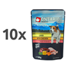 Ontario Dog - piščanec in jetra v juhi - 100 g 10 x 100 g