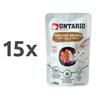 Ontario Cat - tuna in losos v juhi - 80 g 15 x 80 g