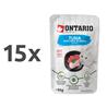 Ontario Cat - tuna in piščanec v juhi - 80 g 15 x 80 g