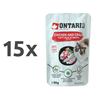Ontario Cat - piščanec in rakovica v juhi - 80 g 15 x 80 g