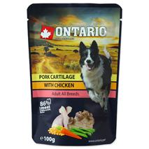 Ontario Dog - piščanec in svinjski hrustanec v juhi - 100 g