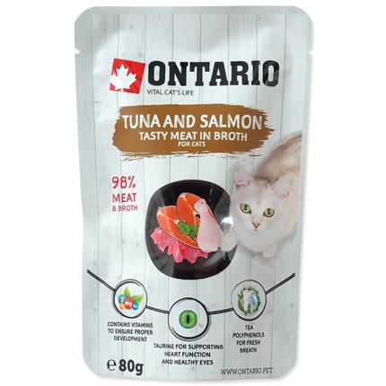 Ontario Cat - tuna in losos v juhi - 80 g