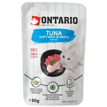 Ontario Cat - tuna in piščanec v juhi - 80 g