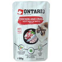 Ontario Cat - piščanec in rakovica v juhi - 80 g
