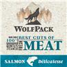 WolfPack Delicatesse mesna klobasa - losos