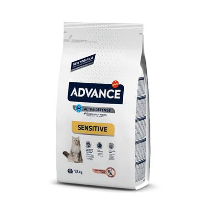 Advance Adult Sensitive - losos in riž - 1,5 kg