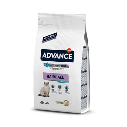 Advance Adult Hairball Sterilized - puran - 1,5 kg