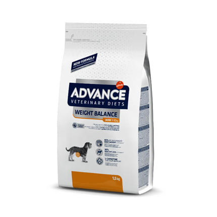 Advance veterinarska dieta Weight Balance Mini - 1,5 kg