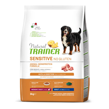 Natural Trainer Sensitive No Gluten Adult Medium/Maxi - svinjina