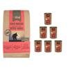 4Pet hladno stiskana hrana - Black Angus govedina 12kg + 6x400g Black Angus