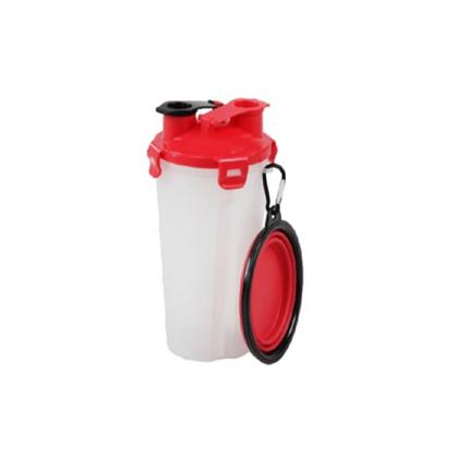 Pawise potovalna steklenica in zložljiva posoda - 450 ml