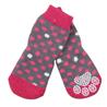 Pawise nogavice Anti-Slip, roza - 4 kos M (srednje veliko)